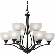 Thomas 2109CH-10 Bristol Lane Oil Rubbed Bronze Lighting Chandelier
