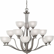 Thomas 2115CH-20 Bristol Lane Brushed Nickel Ceiling Chandelier