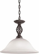 Thomas 2203PL-10 Santa Fe Oil Rubbed Bronze Drop Ceiling Lighting
