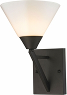 Thomas 2451WS-10 Tribecca Contemporary Oil Rubbed Bronze Sconce Lighting