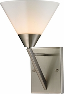 Thomas 2451WS-20 Tribecca Modern Brushed Nickel Light Sconce