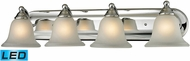 Thomas 5504BB-30-LED Shelburne Chrome LED 4-Light Bathroom Sconce