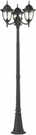 Thomas 7153EP-73 Central Square Charcoal Outdoor Post Lighting