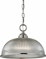 Thomas 7681PL-20 Liberty Park Brushed Nickel Pendant Light