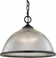 Thomas 7691PL-10 Liberty Park Oil Rubbed Bronze Lighting Pendant