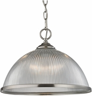 Thomas 7691PL-20 Liberty Park Brushed Nickel Pendant Lamp