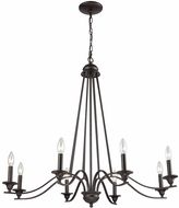 Thomas CN110821 Farmington Oil Rubbed Bronze Chandelier Lighting