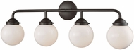 Thomas CN120411 Beckett Modern Oil Rubbed Bronze 4-Light Vanity Lighting Fixture