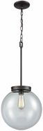 Thomas CN129041 Beckett Contemporary Oil Rubbed Bronze Hanging Pendant Light