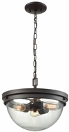 Thomas CN129281 Beckett Modern Oil Rubbed Bronze Hanging Light Fixture