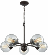 Thomas CN129521 Beckett Modern Oil Rubbed Bronze Hanging Chandelier