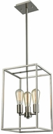 Thomas CN15832 Williamsport Contemporary Brushed Nickel 16  Entryway Light Fixture