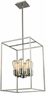 Thomas CN15862 Williamsport Contemporary Brushed Nickel 21  Foyer Light Fixture