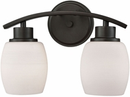 Thomas CN170211 Casual Mission Oil Rubbed Bronze 2-Light Bath Lighting Sconce