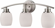 Thomas CN170312 Casual Mission Brushed Nickel 3-Light Lighting For Bathroom