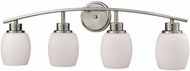 Thomas CN170412 Casual Mission Brushed Nickel 4-Light Bathroom Light