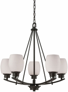 Thomas CN170521 Casual Mission Oil Rubbed Bronze Mini Hanging Chandelier