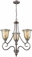 Thomas CN230327 Georgetown Weathered Zinc Chandelier Lamp