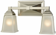 Thomas CN573211 Sinclair Brushed Nickel 2-Light Bath Light Fixture