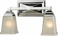 Thomas CN573212 Sinclair Polished Chrome 2-Light Bath Lighting Fixture