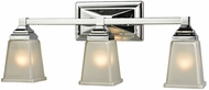 Thomas CN573312 Sinclair Polished Chrome 3-Light Bathroom Vanity Lighting