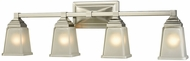 Thomas CN573411 Sinclair Brushed Nickel 4-Light Bathroom Vanity Light
