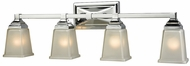 Thomas CN573412 Sinclair Polished Chrome 4-Light Bathroom Sconce