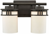 Thomas CN578211 Ravendale Oil Rubbed Bronze 2-Light Bath Sconce