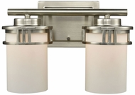 Thomas CN578212 Ravendale Brushed Nickel 2-Light Vanity Light Fixture