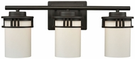 Thomas CN578311 Ravendale Oil Rubbed Bronze 3-Light Vanity Lighting Fixture