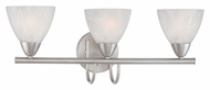 Thomas Lighting 190017117 Tia Matte Nickel Finish 22.5  Wide 3 Light Bath Lighting