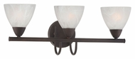 Thomas Lighting 190017763 Tia Painted Bronze Finish 8.5  Tall 3 Light Bathroom Light