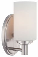 Thomas Lighting 190023217 Pittman Brushed Nickel Finish 4.5  Wide Wall Lighting