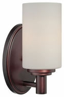 Thomas Lighting 190023719 Pittman Sienna Bronze Finish 9  Tall Sconce Lighting