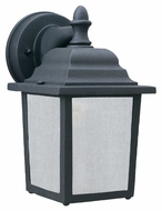 Thomas Lighting PL94237 Outdoor Essentials Traditional Black Finish 5.5  Wide Exterior Light Sconce