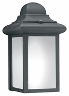 Thomas Lighting PL94807 Outdoor Essentials Black Finish 5.75  Wide Exterior Lamp Sconce