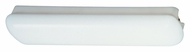 Thomas Lighting SL1217EB Indoor Fluorescent White Finish 6  Tall Flush Ceiling Light Fixture