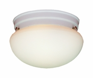 Thomas Lighting SL3258 Ceiling Essentials White Finish 7.5  Wide Overhead Light Fixture