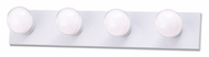 Thomas Lighting SL74028 Vanity Strips Matte White Finish 24  Wide 4 Light Bath Sconce