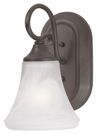 Thomas Lighting SL744163 Elipse Painted Bronze Finish 9.5  Tall Wall Lighting