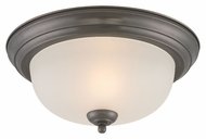 Thomas Lighting SL878115 Ceiling Essentials Oiled Bronze Finish 11.25  Wide Ceiling Lighting Fixture