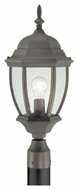 Thomas Lighting SL901063 Covington Traditional Painted Bronze Finish 9.5  Wide Exterior Post Lighting
