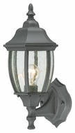 Thomas Lighting SL92237 Covington Traditional Black Finish 14.25  Tall Outdoor Wall Light Sconce