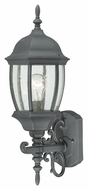 Thomas Lighting SL92257 Covington Traditional Black Finish 21.5  Tall Outdoor Wall Sconce