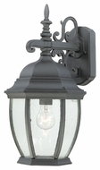 Thomas Lighting SL92297 Covington Traditional Black Finish 18  Tall Outdoor Light Sconce