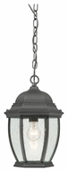 Thomas Lighting SL92337 Covington Traditional Black Finish 14  Tall Outdoor Pendant Lighting Fixture