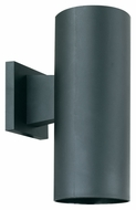 Thomas Lighting SL92707 Plastic Outdoor Black Finish 5  Wide Exterior Wall Sconce Lighting