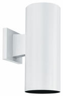 Thomas Lighting SL92708 Plastic Outdoor Matte White Finish 12  Tall Outdoor Wall Light Fixture