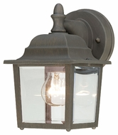 Thomas Lighting SL942263 Outdoor Essentials Traditional Painted Bronze Finish 8.5  Tall Outdoor Lighting Wall Sconce