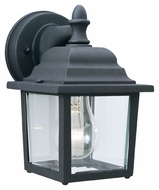 Thomas Lighting SL94227 Outdoor Essentials Traditional Black Finish 5.5  Wide Exterior Wall Lighting Sconce
